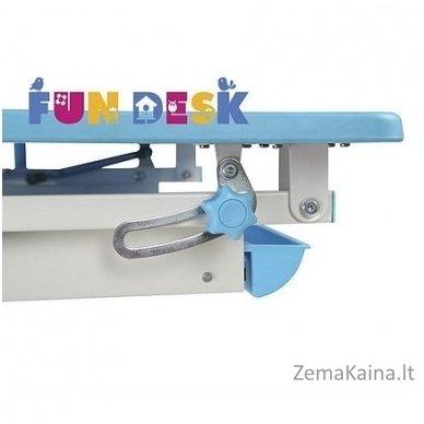 Augantis vaikiškas stalas transformeris FunDesk Lavoro L Blue 4
