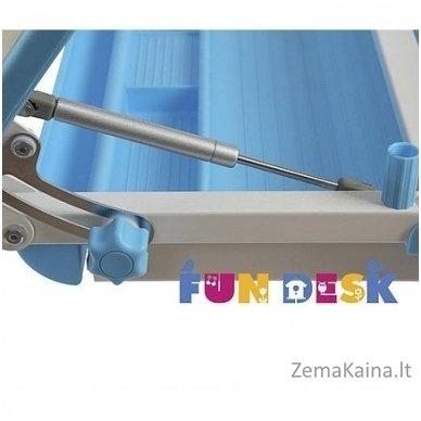 Augantis vaikiškas stalas transformeris FunDesk Lavoro L Blue 9