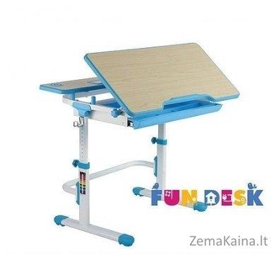 Augantis vaikiškas stalas transformeris FunDesk Lavoro L Blue 2