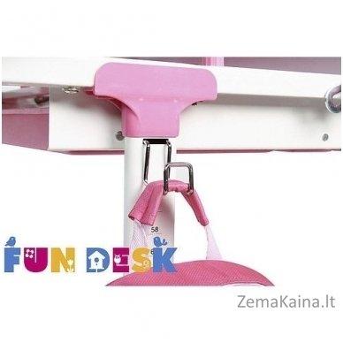 Augantis vaikiškas stalas transformeris FunDesk Lavoro L Pink 8