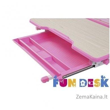 Augantis vaikiškas stalas transformeris FunDesk Lavoro L Pink 7