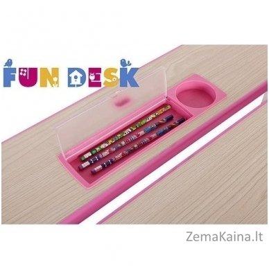 Augantis vaikiškas stalas transformeris FunDesk Lavoro L Pink 6