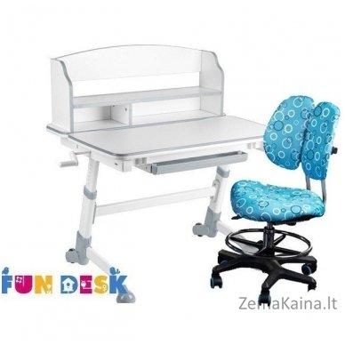 Augantis vaikiškas stalas FunDesk Volare II Grey 4