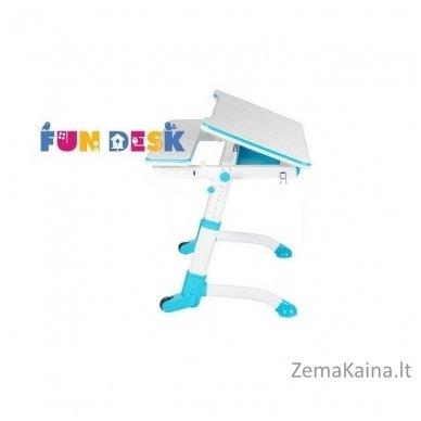 Augantis vaikiškas stalas transformeris FunDesk Volare Blue 5