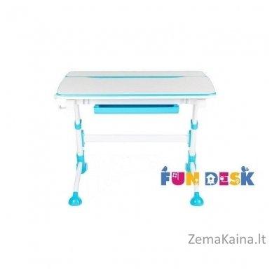 Augantis vaikiškas stalas transformeris FunDesk Volare Blue 4