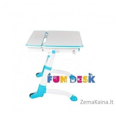 Augantis vaikiškas stalas transformeris FunDesk Volare Blue 2