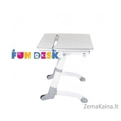 Augantis vaikiškas stalas transformeris FunDesk Volare Grey 4