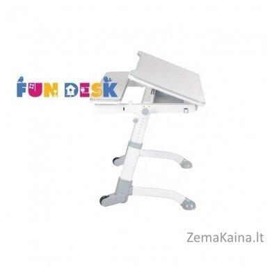 Augantis vaikiškas stalas transformeris FunDesk Volare Grey 3