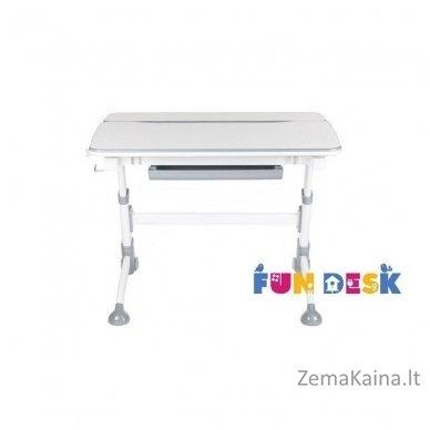 Augantis vaikiškas stalas transformeris FunDesk Volare Grey 2