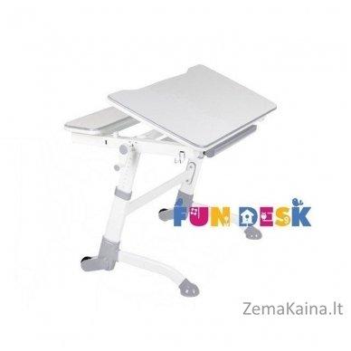 Augantis vaikiškas stalas transformeris FunDesk Volare Grey
