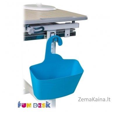 Augantis vaikiškas stalas transformeris ir kėdė FunDesk Piccolino Grey 3
