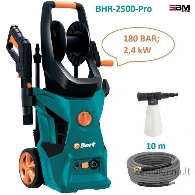 Aukšto slėgio plovykla BORT BHR-2500R-Pro 2