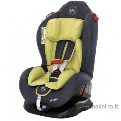 Auto kėdutė 0-25 kg. Coto Baby Bolero Olive