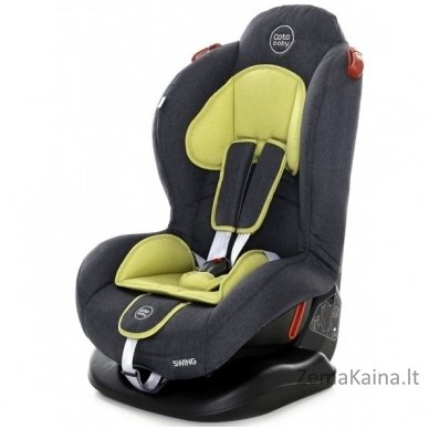 Autokėdutė Coto Baby Swing Olive 9-25 kg