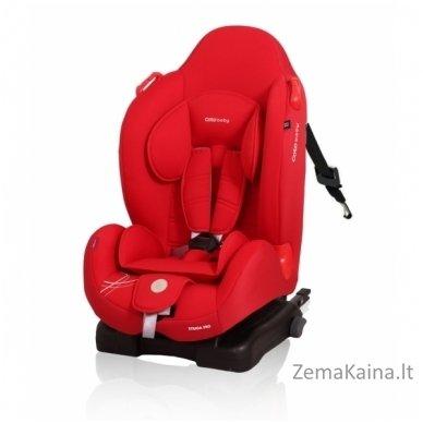 Autokėdutė Coto Baby Strada su IsoFix Red