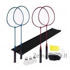 Badmintono rakečių rinkinys su tinku Spokey FUN START