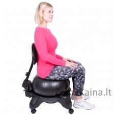 Balansinė kėdė su atlošu inSPORTline G-Chair