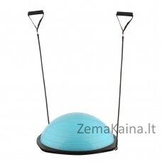 Balansinė pusiausvyros platforma su gumomis inSPORTline Dome Advance Blue