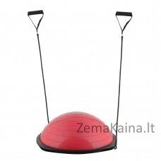 Balansinė pusiausvyros platforma su gumomis inSPORTline Dome Advance Red