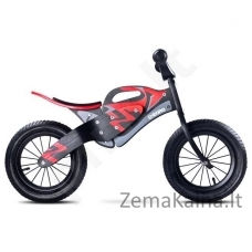 "Balansinis dviratukas Caretero ""Enduro"" Black/Red"
