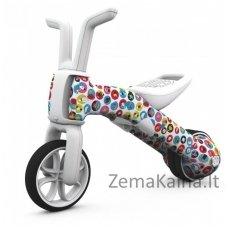 Balansinis dviratukas Pushbike 2in1 Chillafish Bunzi FAD