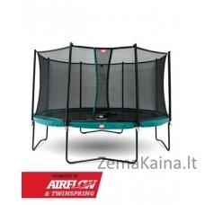 Batutas BERG Champion - 330 cm, žalias, su saugos tinklu Comfort
