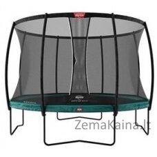 Batutas BERG Champion Regular - 430 cm, žalias, su saugos tinklu DLX XL