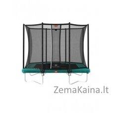 Batutas BERG Ultim Favorit Regular - 280 cm, žalias, su saugos tinklu Comfort