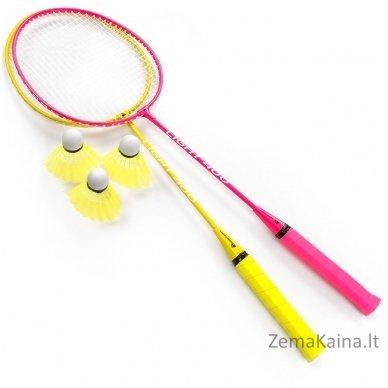 Badmintono rakečių rinkinys Meteor 20049 2