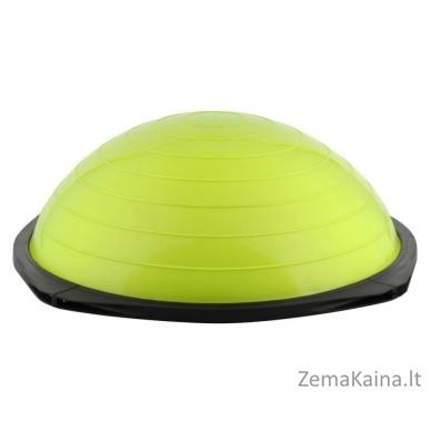 Balansinė pusiausvyros platforma su gumomis inSPORTline Dome Advance (žalias) 5
