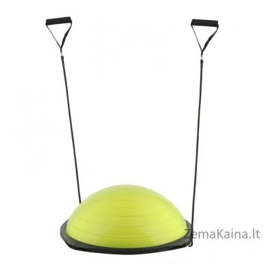 Balansinė pusiausvyros platforma su gumomis inSPORTline Dome Advance (žalias)