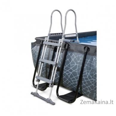 Baseinas EXIT Stone 400x200 cm, 7020 L - su kopėtėlėmis ir filtru 3