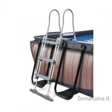 Baseinas EXIT Wood 400x200 cm, 7020 L - su kopėtėlėmis ir filtru 3