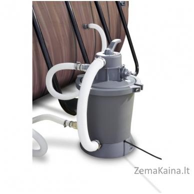 Baseinas EXIT Wood 400x200 cm, 7020 L - su kopėtėlėmis ir filtru 4