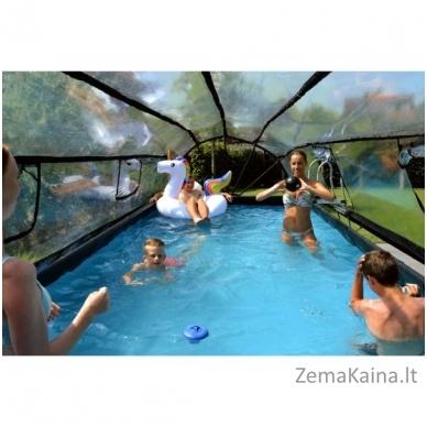 Baseinas EXIT Wood 540x250 cm, 12600 L - su stogeliu, kopėtėlėmis ir filtru 5