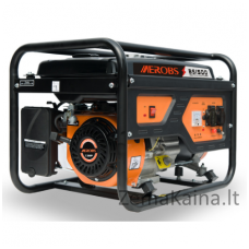 Benzininis generatorius AEROBS BSGE1500