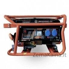 BENZININIS GENERATORIUS ASTOR BS3500A, 230V, 3KW