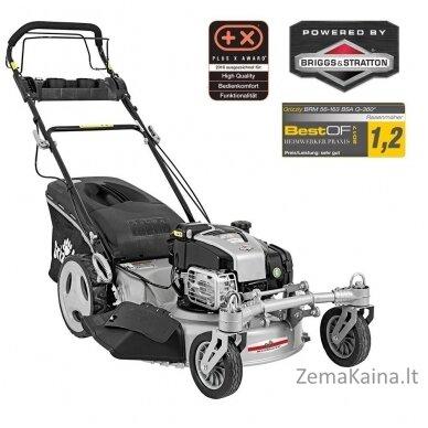 Benzininė savaeigė vejapjovė 2.64kW Grizzly BRM 56-163 BSA Q-360 Premium