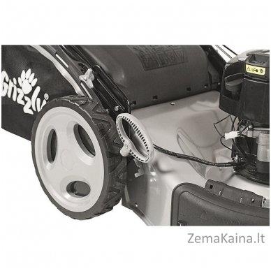 Benzininė savaeigė vejapjovė 2.64kW Grizzly BRM 56-163 BSA Q-360 Premium 8