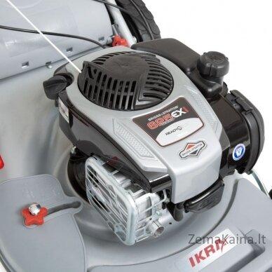 Benzininė savaeigė vejapjovė 51cm 2.5 kW Ikra 4in1 IBRM 51S 2