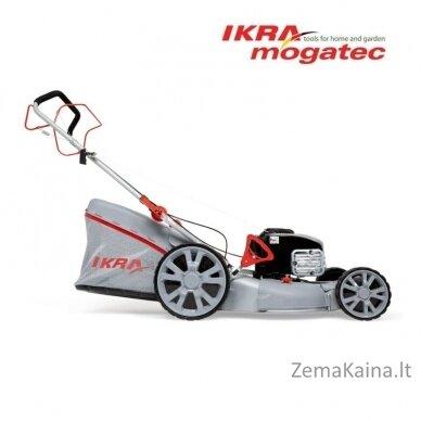 Benzininė savaeigė vejapjovė 51cm 2.5 kW Ikra 4in1 IBRM 51S 6