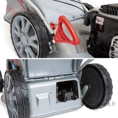 Benzininė savaeigė vejapjovė 51cm 2.5 kW Ikra 4in1 IBRM 51S 4