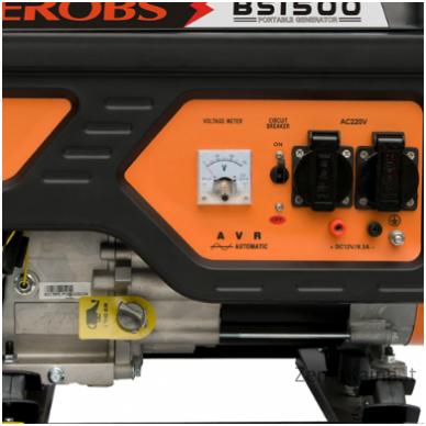 Benzininis generatorius AEROBS BS1500 2