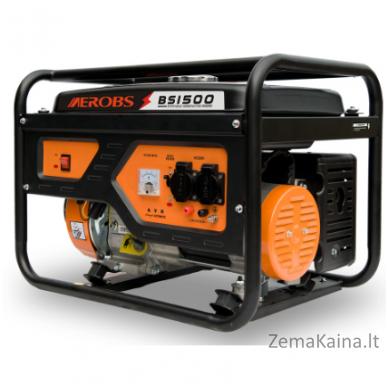 Benzininis generatorius AEROBS BSGE1500 4