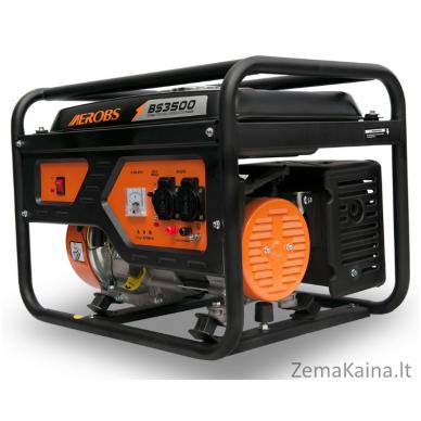 Benzininis generatorius AEROBS BS3500 2
