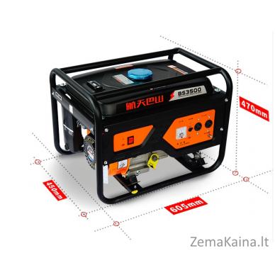 Benzininis generatorius AEROBS BS3500 6