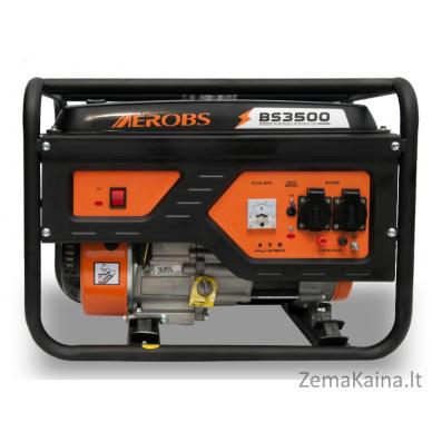 Benzininis generatorius AEROBS BS3500