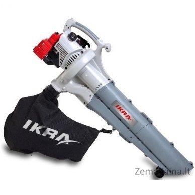 Benzininis lapų pūstuvas/surinkėjas 0,75 kW Ikra Mogatec IBLS 31