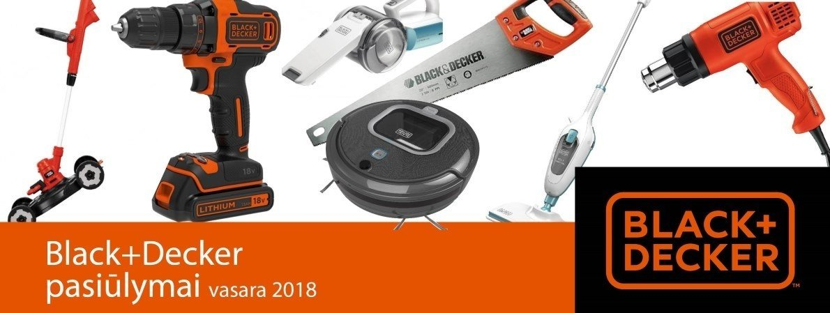 Black n Decker vasara 2018