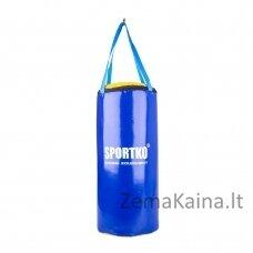 Bokso maišas vaikams SportKO SMP9 24x50 cm - Blue-Yellow